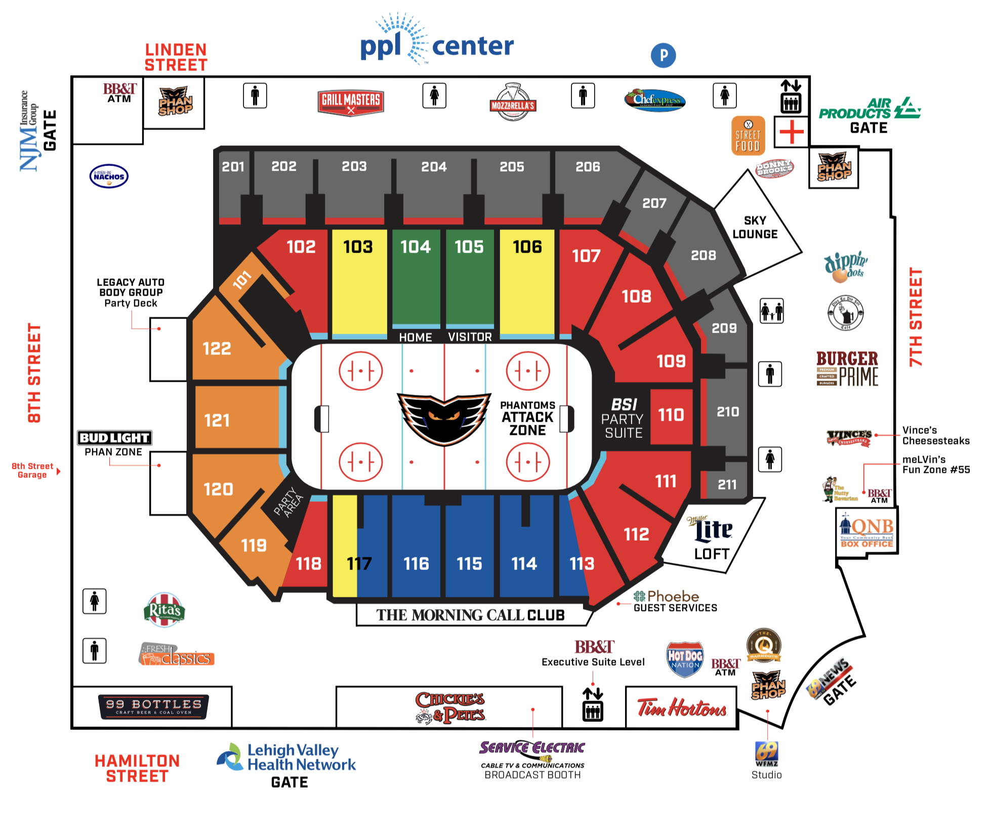 2019 PPL Center Arena Map.png