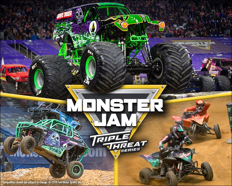 More Info for Monster Jam Triple Threat Series