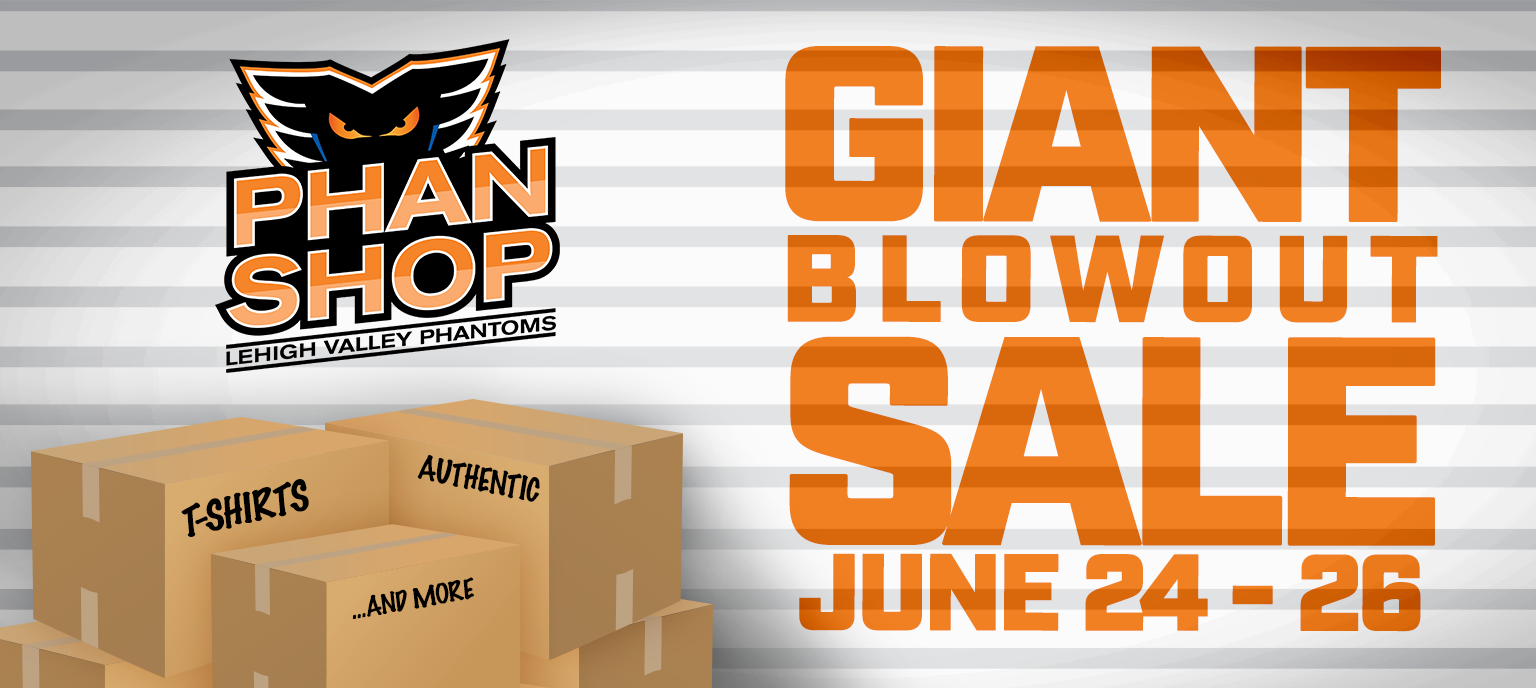 More Info for PHANTOMS MERCHANDISE BLOW OUT SALE