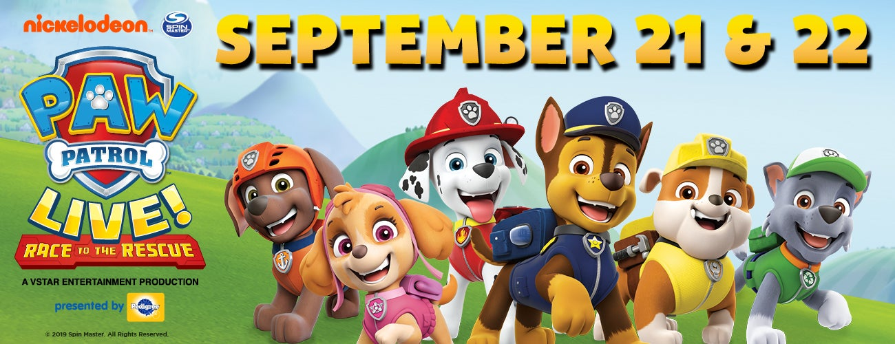 PAW Patrol Live: Race to the Rescue!
