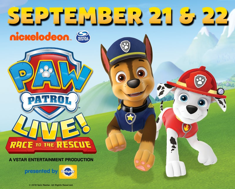 More Info for PAW Patrol Live: Race to the Rescue!