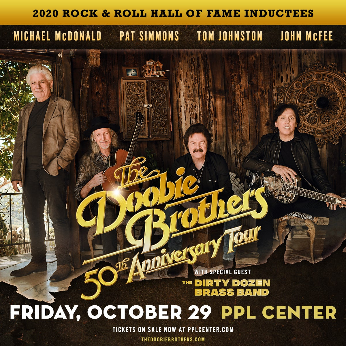 More Info for The Doobie Brothers 50th Anniversary Tour