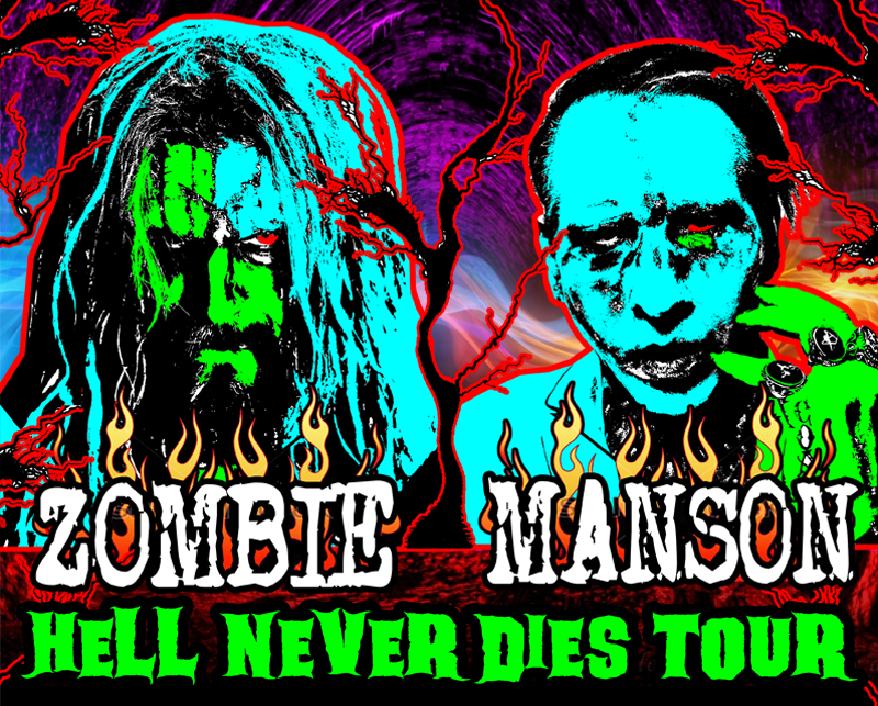 More Info for Rob Zombie and Marilyn Manson