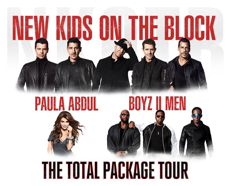 More Info for New Kids On The Block, Paula Abdul & Boyz II Men